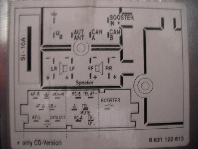 radioschema Alfa Romeo Bose Wiring Diagram on