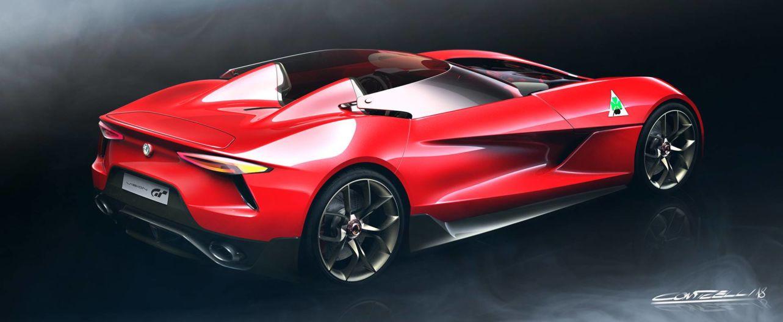 Alfa Romeo 6C Vision Gran Turismo: ecco l'ipotesi di un designer italiano