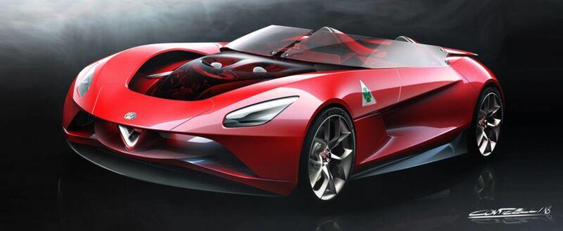 Alfa Romeo 6C Vision Gran Turismo