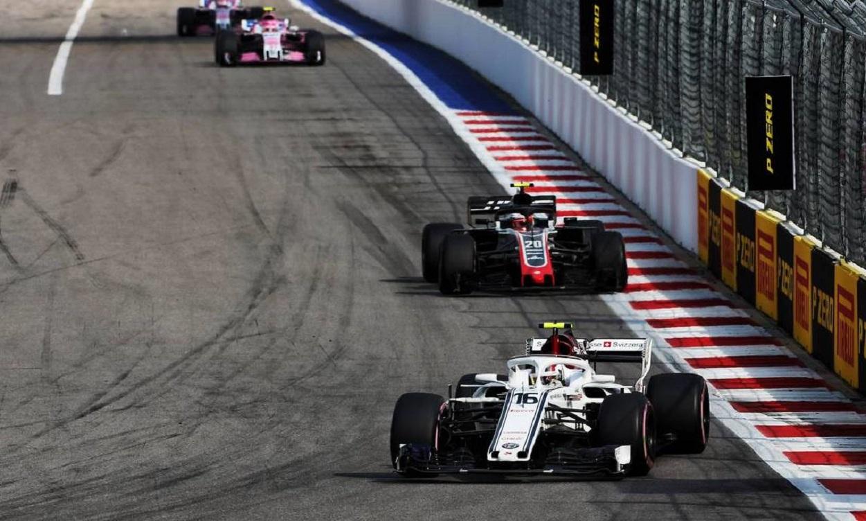 Alfa Romeo Sauber pronta per il Gran Premio di Formula 1 degli Stati Uniti