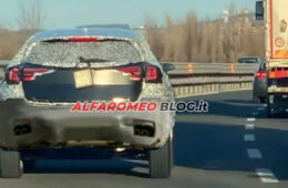 AlfaRomeo-C-SUV Tonale Spy Photo