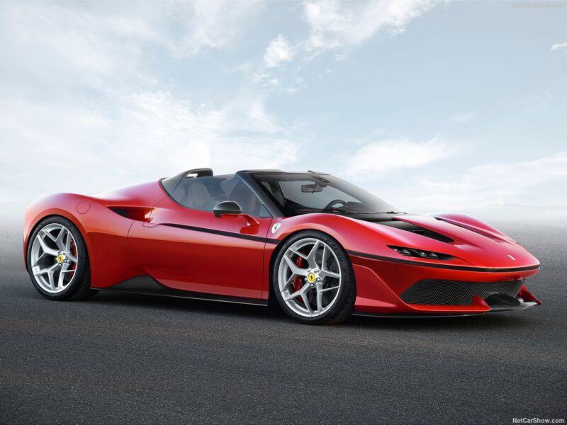 Ferrari J50: in vendita 1 dei 10 esemplari prodotti