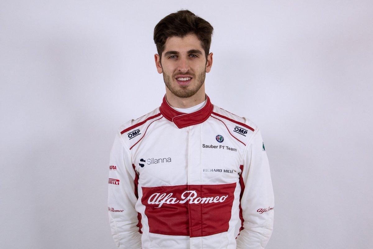 Giovinazzi AlfaRomeo Racing News