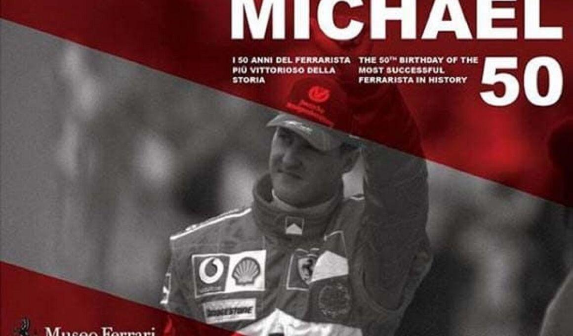 Ferrari: la mostra Michael 50 allunga la durata per numeri da record