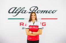 Alfa Romeo Racing Tatiana Calderon