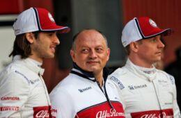 Alfa Romeo Racing - Frederic Vasseur