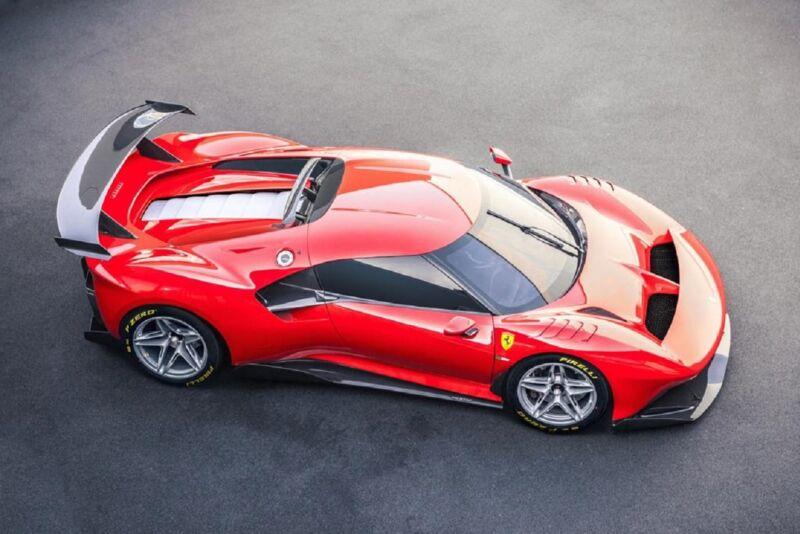 Ferrari P80/C: la vettura da pista più estrema