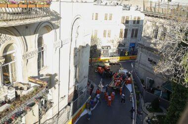 F1, GP Baku: Sebastian Vettel in terza posizione