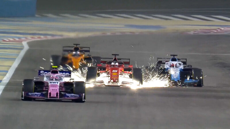 """Vettel: """"Il cedimento dell'ala è dovuto ad una delaminazione della gomma"""""""