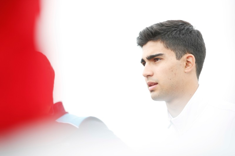 Juan Manuel Correa effettuerà test privati con Alfa Romeo Racing