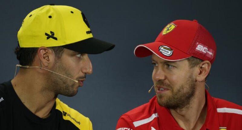 """Daniel Ricciardo difende Vettel: """"Tornerà in gran forma"""""""