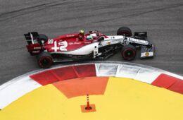 GP Russia: il venerdì dell'Alfa Romeo Racing