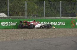 Kimi Raikkonen: penalità a Monza per sostituzione cambio