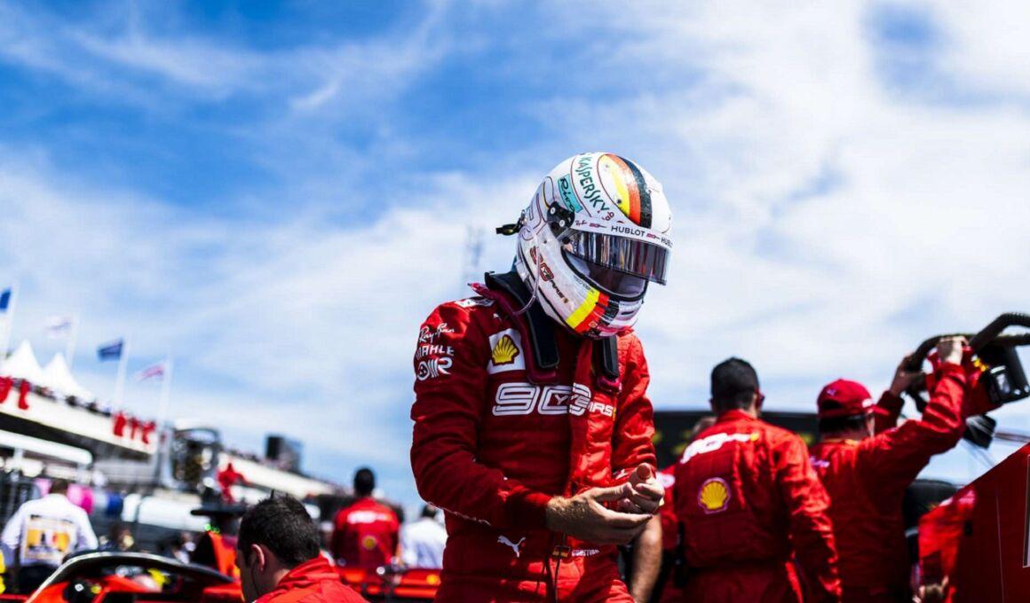 """Vettel: """"Charles mi sta sfidando e io faccio lo stesso"""""""
