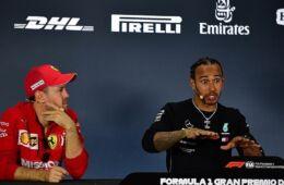 Hamilton e Vettel