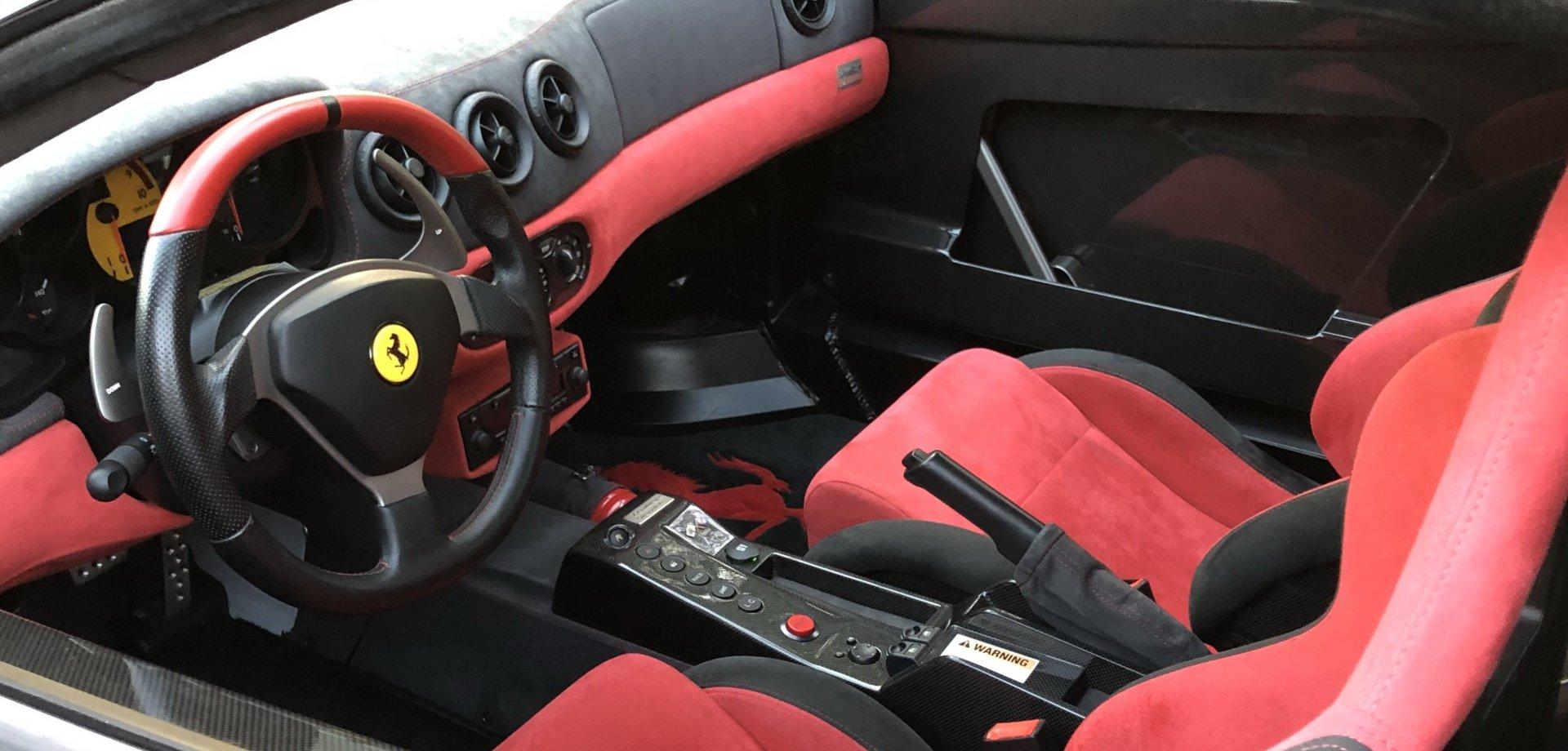 Ferrari 360 Challenge Stradale all'asta