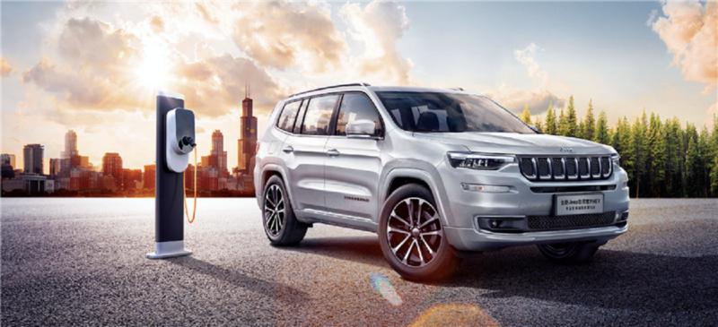 Jeep Grand Commander: la prima ibrida in Cina