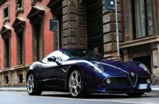 Alfa 8C: all'asta l'unica versione di colore Blu Maserati
