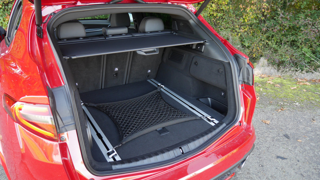 Alfa Romeo Stelvio bagagli