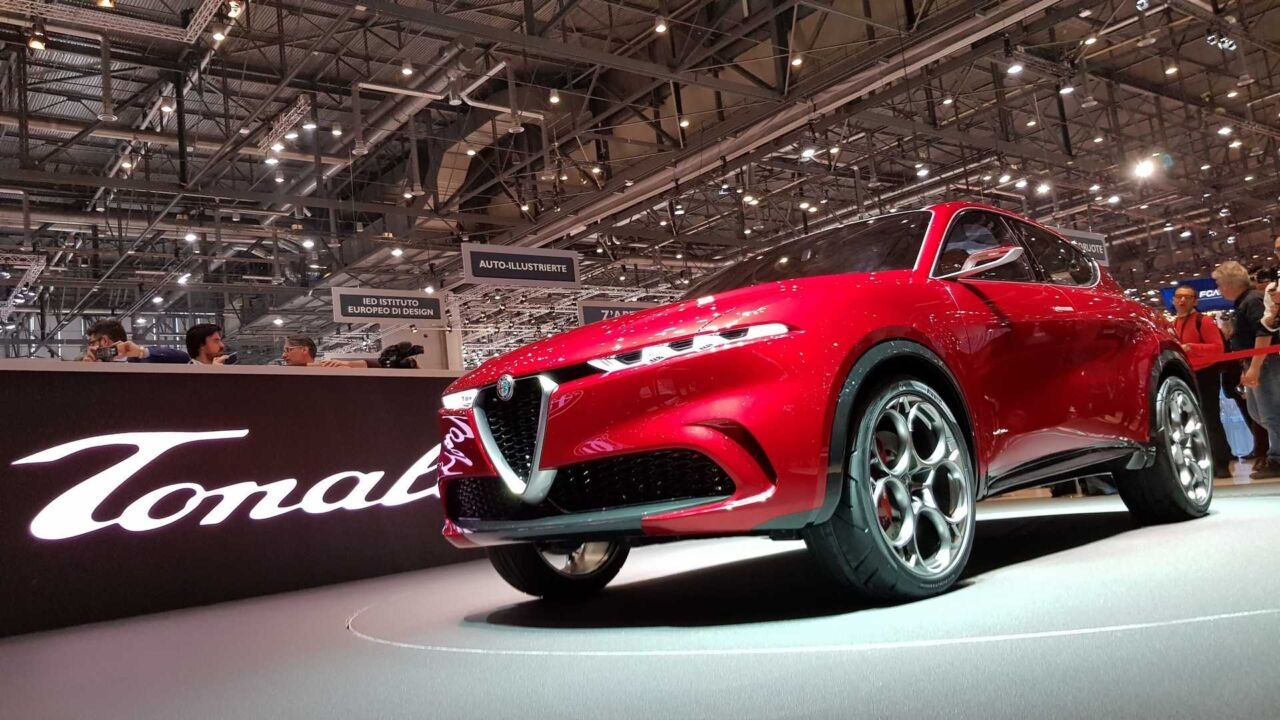 Alfa Romeo Tonale Concept al Salone di Los Angeles 2019