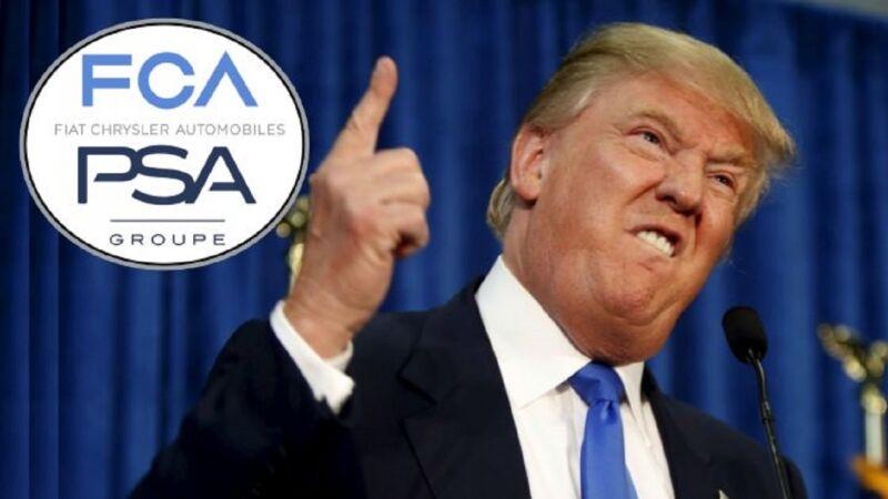 Gli USA esamineranno l'accordo FCA-PSA sui legami con la Cina
