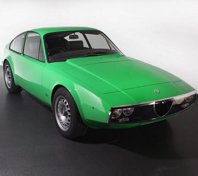 L' Alfa Romeo 1600 Junior Zagato di Gordon Murray