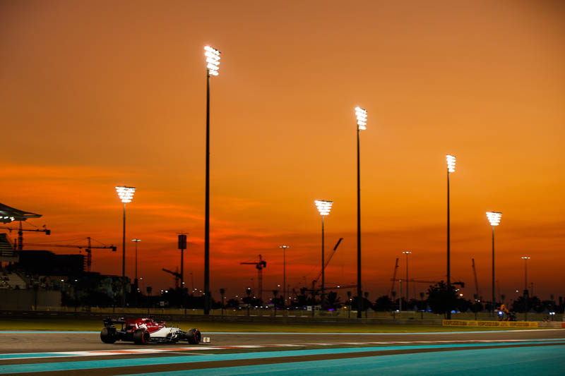 GP Abu Dhabi: il venerdì dell' Alfa Romeo Racing
