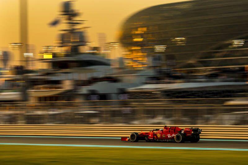 GP Abu Dhabi: il venerdì della Ferrari