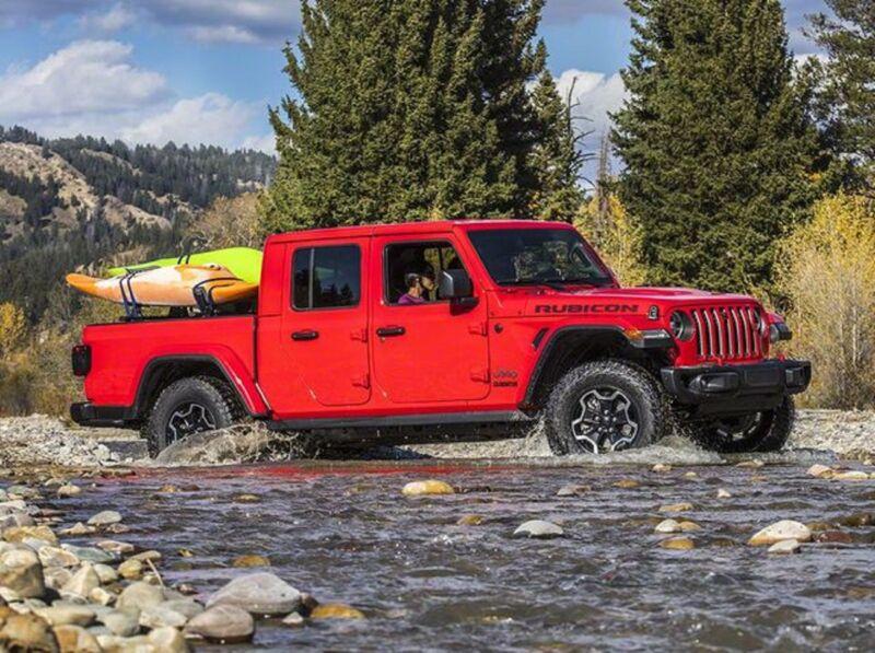 Jeep Gladiator eletto il miglior pickup medio
