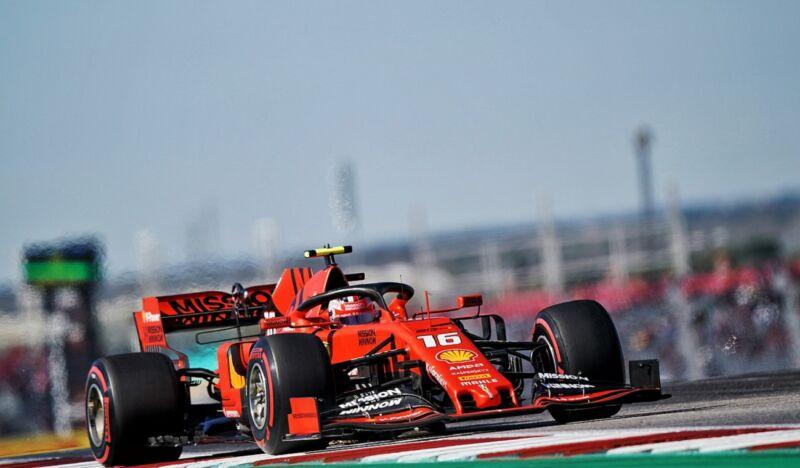 Leclerc: 10 posizioni di penalità in griglia in Brasile