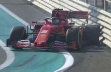 GP Abu Dhabi: Vettel si schianta, Bottas al comando