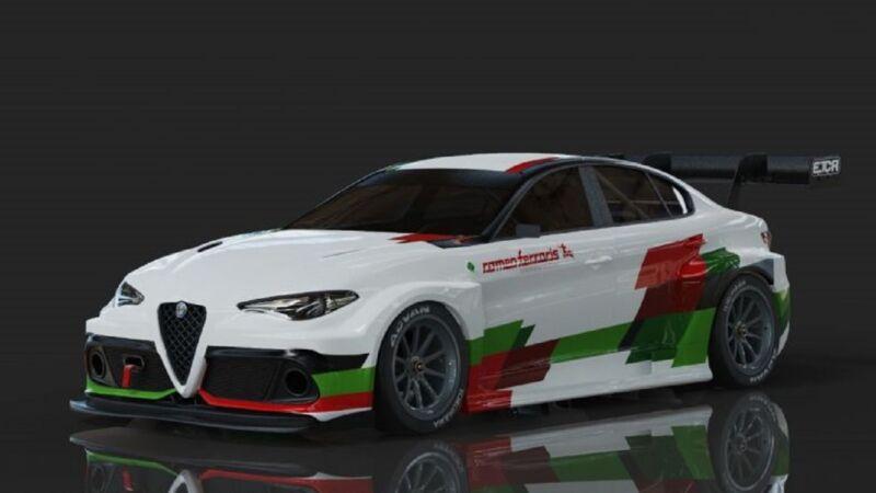 Alfa Romeo ufficializza una versione elettrica della Giulia per l'ETCR