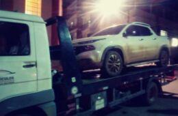 Fiat Toro clonata sequestrata dalla polizia