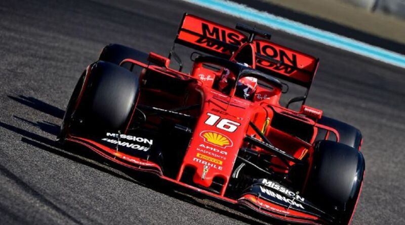 Leclerc chiude i test ad Abu Dhabi con un incidente