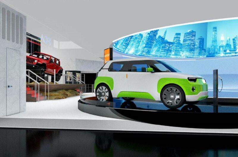 AirFlow Vision: l'interfaccia FCA al CES 2020