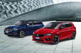 La gamma Fiat Tipo comprende cinque versioni di equipaggiamento - Street, Mirror, Lounge, S-Design e Sport