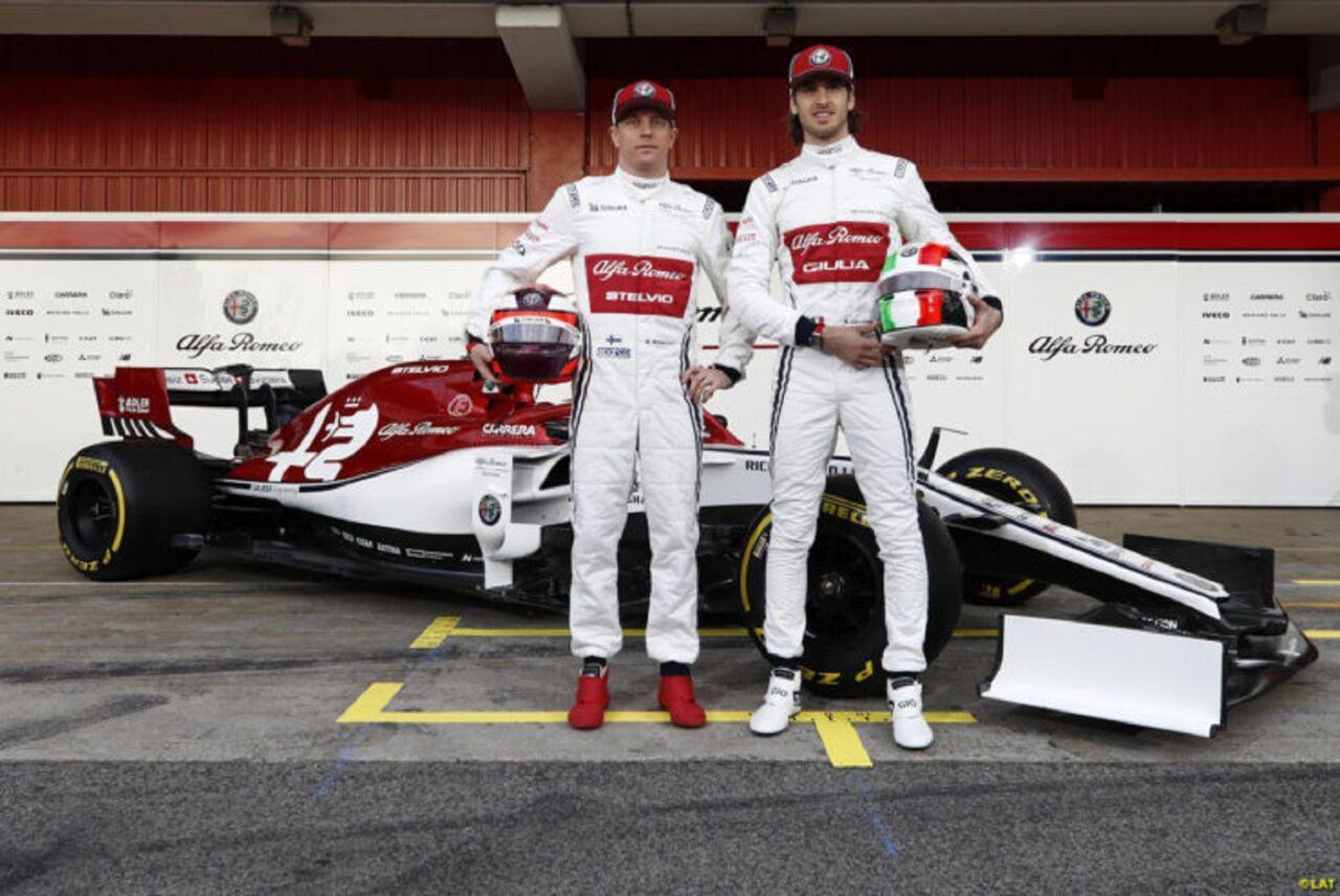 Giovinazzi: Kimi Raikkonen è il miglior compagno di squadra che potessi avere