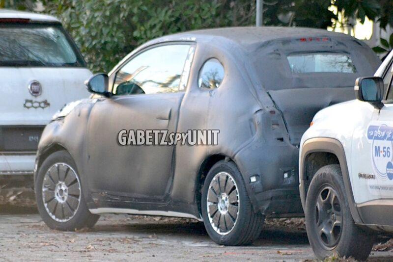 Nuova Fiat 500: è questa la carrozzeria definitiva?