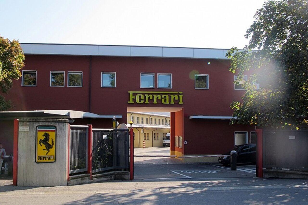 Ferrari fabbrica coronavirus