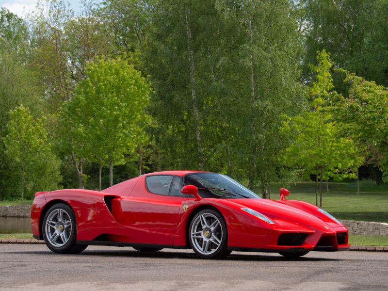 La seconda Ferrari Enzo mai costruita è in vendita
