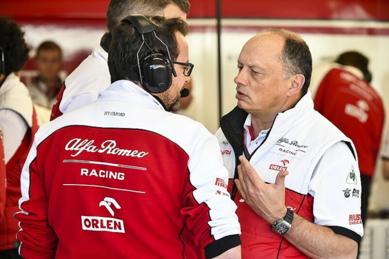 Alfa Romeo Racing Vasseur