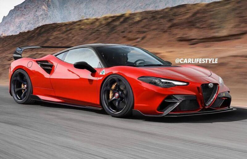 Alfa Romeo supercar