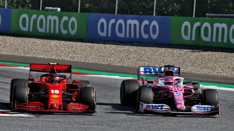 Ferrari e Racing Point