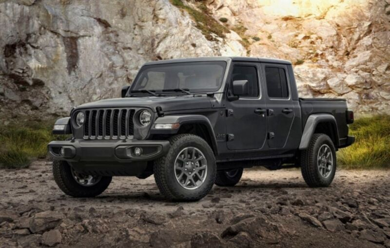 Jeep Gladiator 80Th Anniversary Edition