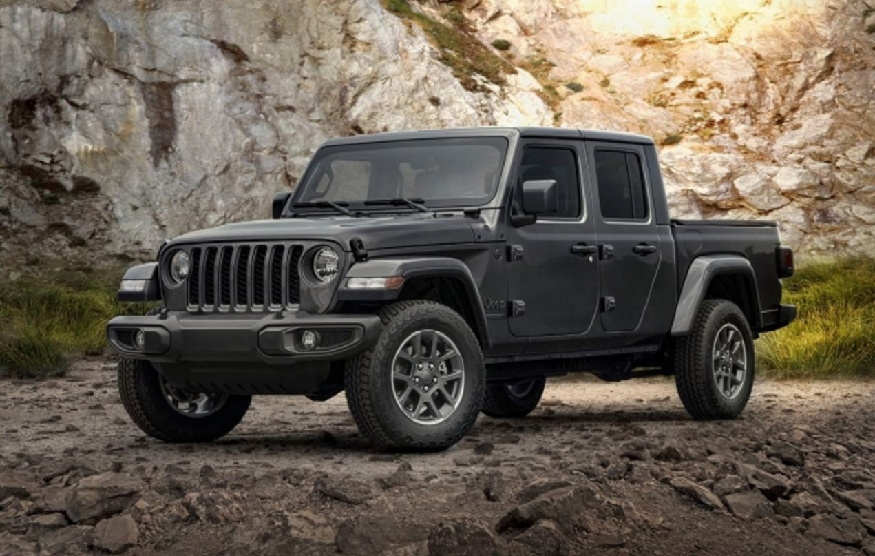 Jeep Gladiator 80Th Anniversary Edition