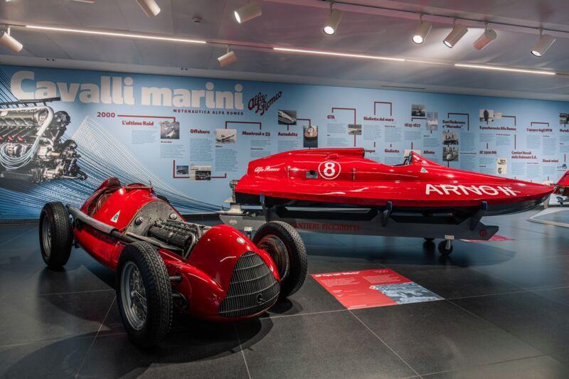 Alfa Romeo Cavalli Marini