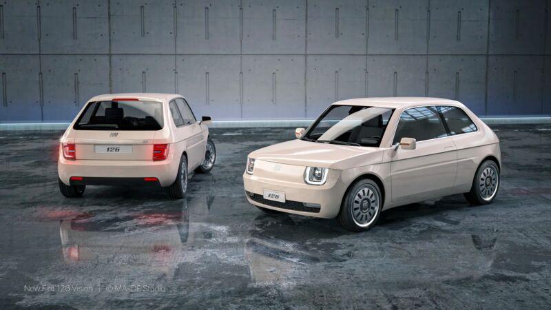 Fiat 126 elettrica