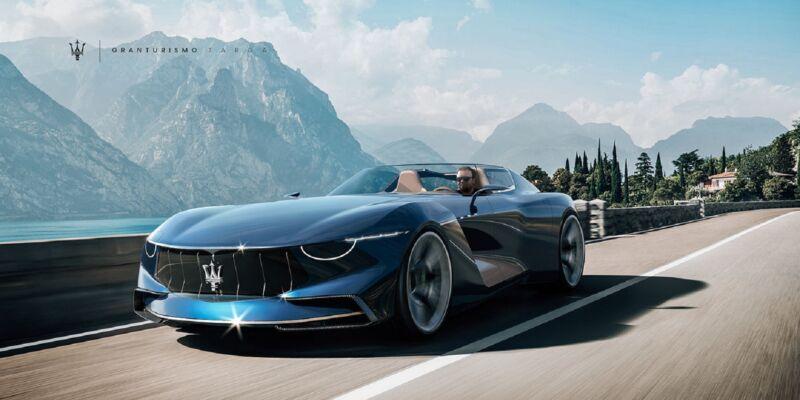 Maserati GranTurismo Targa