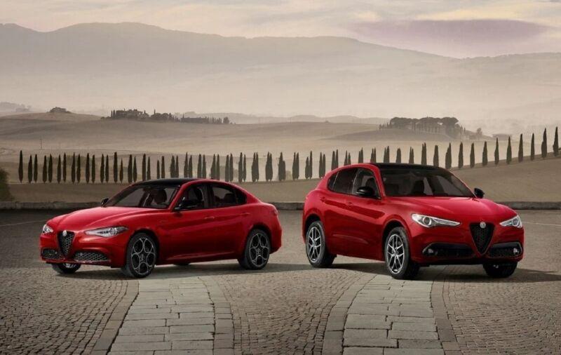 Alfa Romeo Giulia e Stelvio Sprint 110 Ans
