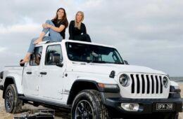 Empty Esky Jeep Australia